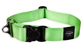 Rogz - Utility 2 x Extra-Large Landing Strip Dog Collar - Lime