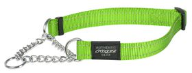 Rogz Utility Extra Large Lumberjack Check Collar (31cm x 3cm) - Lime