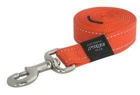 Rogz Utility Extra Large Lumberjack Dog Fixed Lead - Orange