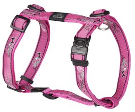 Rogz - Fancy Dress Extra-Large Armed Response Dog H-Harness - Pink