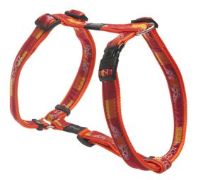 Rogz Fancy Dress Extra Large Armed Response Dog H-Harness - Tangerine