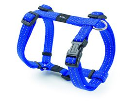 Rogz - Utility Small Nitelife Dog H-Harness - Blue
