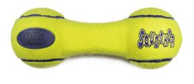 Kong -  Dog Toy Airdog Squeaker Dumbbell - Large - Yellow