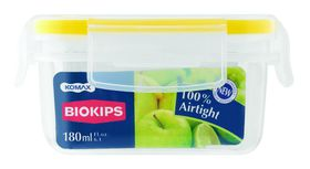Snappy Food  - 180ml Rectangular Food Storage Container