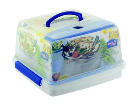 Lock and Lock - 10 Litre Square Cake Container