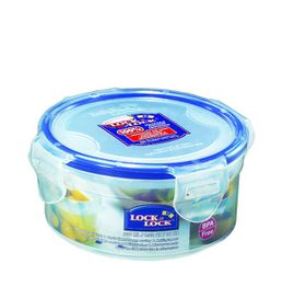 Lock and Lock - 300ml Round Food Storage Container - 11.4 cm x 5.5 cm