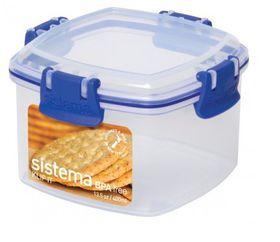 Klip It - 400ml Cracker Storage Container (111mm x 111mm x 72mm)