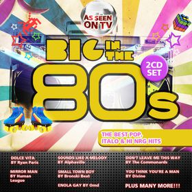 Big In The 80's - Various Artists (CD)