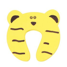 Foam Door Stopper - Yellow Tiger