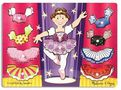 Melissa & Doug Ballerina Dress-up Mix 'n Match Puzzle