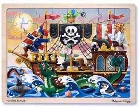 Melissa & Doug Pirate Adventure Wooden Puzzle - 48 piece