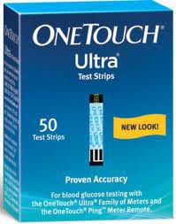 One Touch Ultra Strips 50 90293