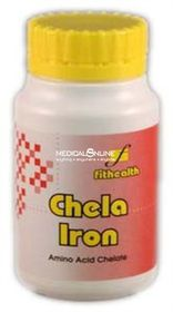 Fithealth Chela Iron Tablets 30