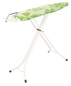 Brabantia - Ironing Board with Steam Iron Rest - Frame White (110cm x 30cm)