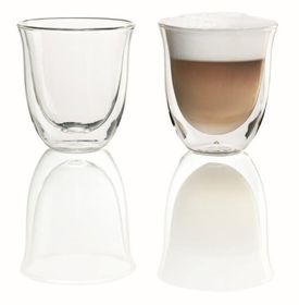 Delonghi - Double Wall Thermo Cappucino Glasses