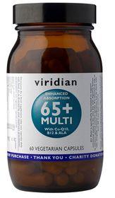Viridian 65+ Multi Vegetarian Capsules (60)