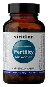 Viridian Fertility for Women Vegetarian Capsules (Pro-Conception) - 60