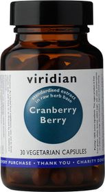 Viridian Cranberry Berry Extract Vegetarian Capsules (30)