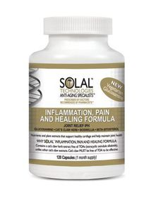 Solal Inflammation Pain Healin Jointrelief 120