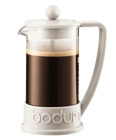 Bodum - Brazil Coffee Press 3-Cup Coffee Maker - White