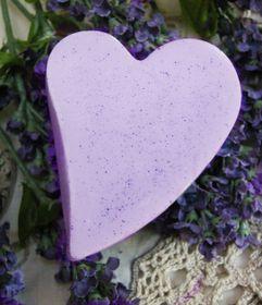 Rose en Bos Lavender - Heart Soap 100g