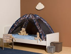 Deryan - Single Bed Tent - Mosquito Net - Blue Camouflage