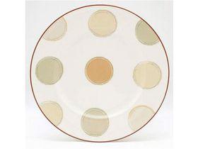 Noritake - Mocha Java Side Plate - White & Brown (17mm x 17mm x 1mm)