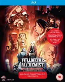 Full Metal Alchemist Brotherhood: Collection One - (Import Blu-Ray)