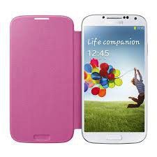 Samsung Flip Cover Galaxy S4 i9500 - Pink