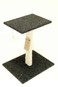 Scratzme Relax 'n Scratz Scratching Post GREY/CHARCOAL