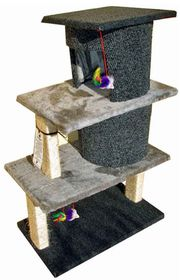 Scratzme - Sleepy Tower Scratching Post