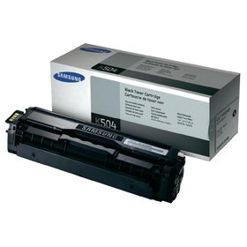 Samsung CLTK504S Toner - Black