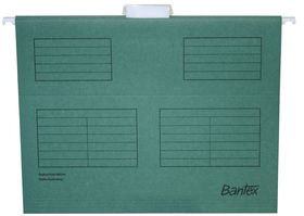 Bantex Suspension File A4 - Dark Green (Pack of 25)