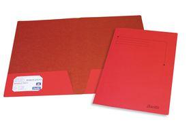 Bantex Presentation Folder A4 - Red (10 Pack)