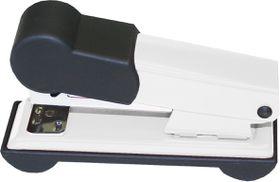 Bantex Metal Small Half Strip Home Stapler - White