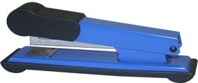 Bantex Metal Large Full Strip Office Stapler - Cobalt Blue