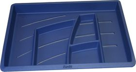 Bantex Organiser Tray - Blue (6 Compartments)
