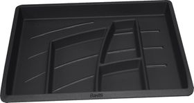 Bantex Organiser Tray - Black (6 Compartments)