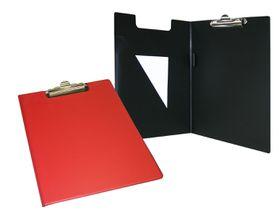 Bantex A4 PVC Folding Clipboard - Red