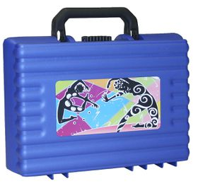 Bantex Casey 2 38cm Utility School Case - Blue