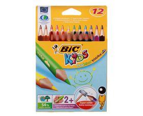 BIC Kids Evolution Triangle 12 Colour Pencils