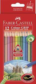 Faber-Castell Colour Grip Pencils (Box of 12)