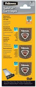 Fellowes SafeCut Assorted Blades 3 Pack