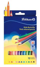 Pelikan Triangular Colour Pencils (Box of 12)