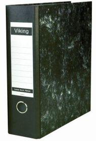 Viking A4 Lever Arch Board 70mm File - Black (Single File)