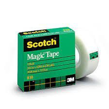 3M Scotch Magic Tape 810 - 18mm x 50m