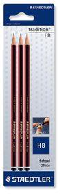 Staedtler Tradition HB Pencils - 3 Pack