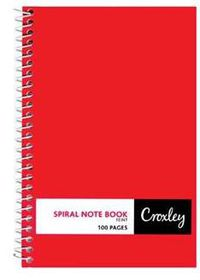 Croxley JD360 100 Page Feint Side Bound Note Book (10 Pack)