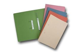 Croxley Accessible File Foolscap - Light Pink (Pack of 20)