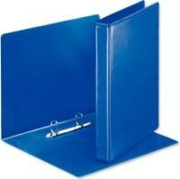 Croxley S1333 A4 2 D-Ring 25mm Polyprop Ringbinder - Blue